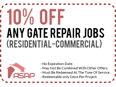 ASAP Gate Repair Los Angeles Coupon